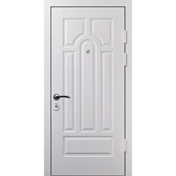 Дверь входная белая «Белая-КВ»