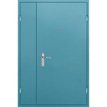 Дверь стальная утепленная двупольная «Двуполка-КВ»