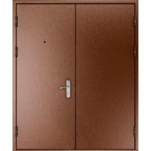 Двупольная презентабельная входная дверь «Двуполка-ПР»