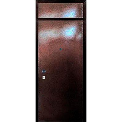 Металлическая дверь в квартиру «Фрамуга-КВ» с окном в виде глухаря