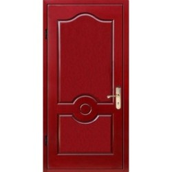 Стальная дверь в квартиру на заказ «Крашенная-МДФ»