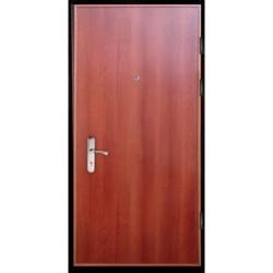 Металлическая дверь среднего класса «Ламинат»