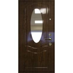 Дверь «МДФ с зеркалом»