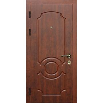 Утепленная металлическая дверь на улицу или в квартиру «МДФ-Темп»