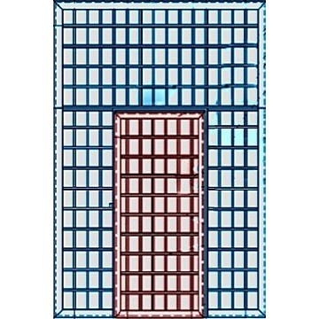 Дверь «Перегородка-Реш»