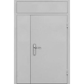 Дверная металлическая перегородка на лестницу «Перегородка-ТА»