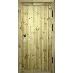 Металлическая утепленная дверь «Вагонка-Т»