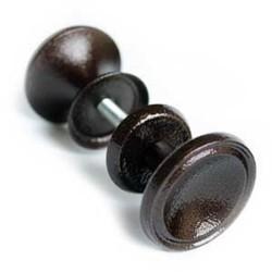 Металлическая ручка кнопка (грибок)