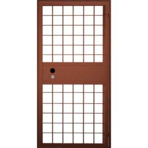 Решетчатая одностворчатая металлическая дверь «Решетка-Гамма»