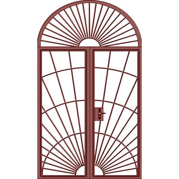 Дверь «Арка-Решетчатая-1»