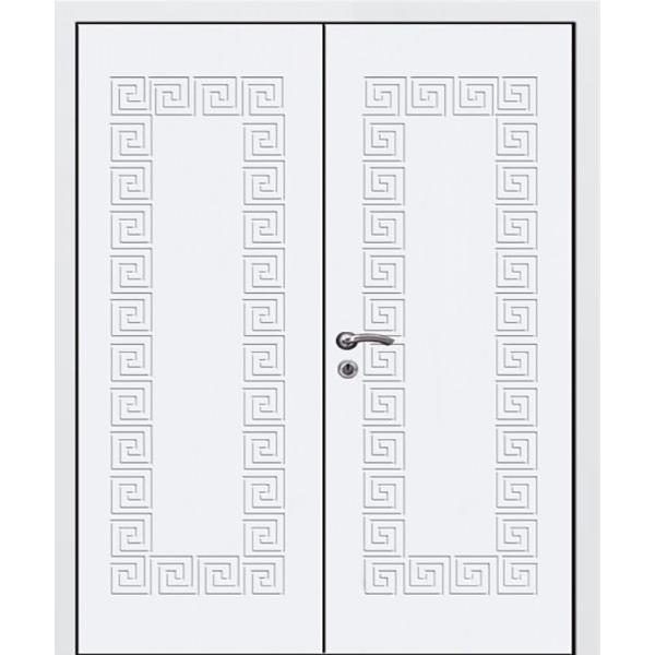 Дверь «Белая-МДФ-Двух»