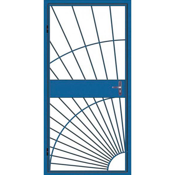 Дверь решетка металлическая «Солнце-1»