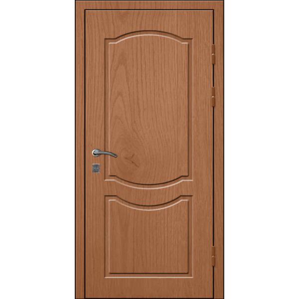 Входная металлическая дверь с зеркальной внутренней стороной «Зеркало-МДФ»