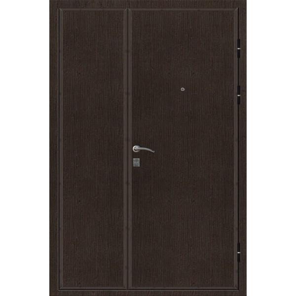 Металлическая полуторная бронированная дверь - 4 + 2 мм стали - в дома старого фонда, на лестницу «Ламинат-Броня»