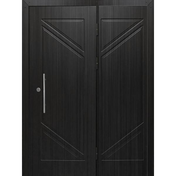 Металлическая бронированная дверь с шумоизоляцией и отделкой МДФ плитами «Броня-МДФ»