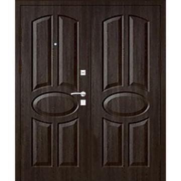Металлическая двухстворчатая дверь квартиры и дома старого фонда «МДФ-СФ»