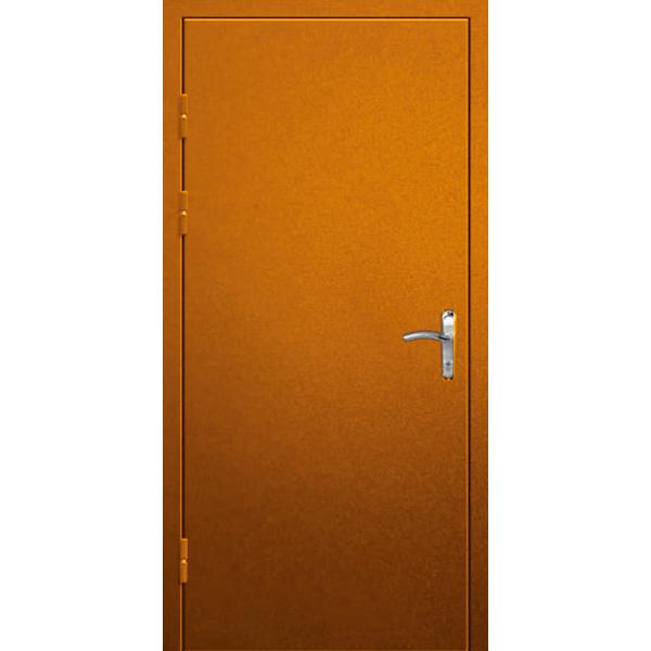 Металлическая трехлистовая бронированная дверь в квартиру со сталью 4 мм - «Трилистник-КВ»