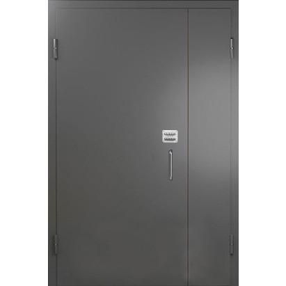 Входная металлическая дверь в подъезд с кодовым механическим замком  «Парадная-4»