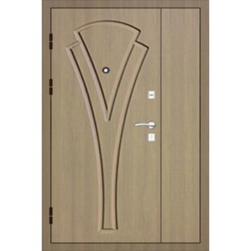 Металлическая входная дверь в квартиру старого фонда с повышенной шумоизоляцией «Полуторка-Шумка*2»