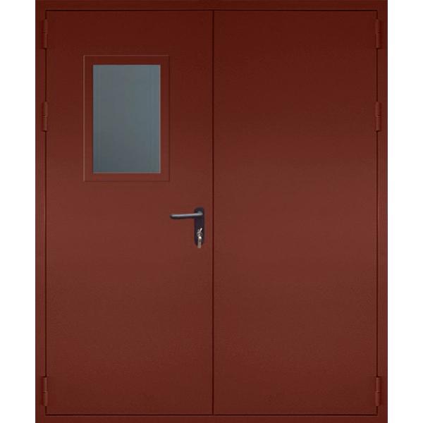 Двупольная металлическая противопожарная дверь «Огнестойкая-2»