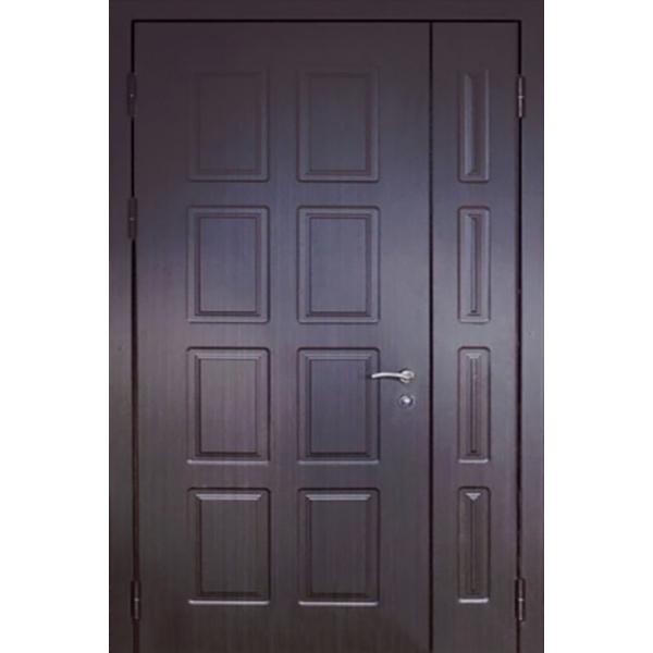 Входная дверь с повышенной шумоизоляцией в старый фонд с толстым полотном и 4-х мм сталью с наружной стороны «Броня-Шумка*2»